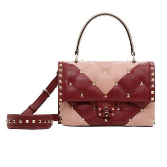 BOLSA VALENTINO CANDYSTUD TOP HANDLE BICOLOR