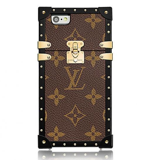 CAPA LOUIS VUITTON EYE TRUNK PARA IPHONE