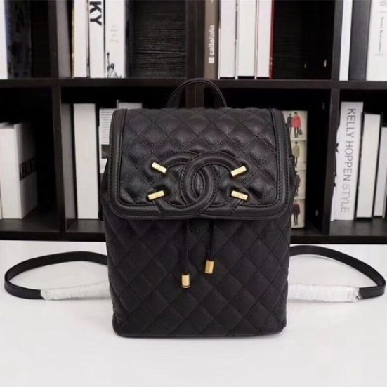 MOCHILA CHANEL BACKPACK CAVIAR LEATHER 83430