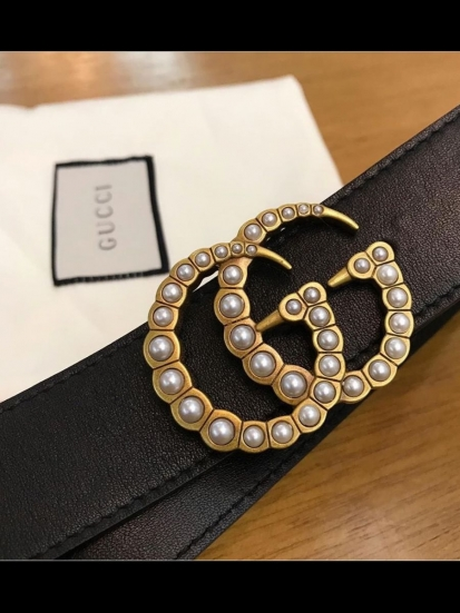 CINTO GG MARMONT PEARL