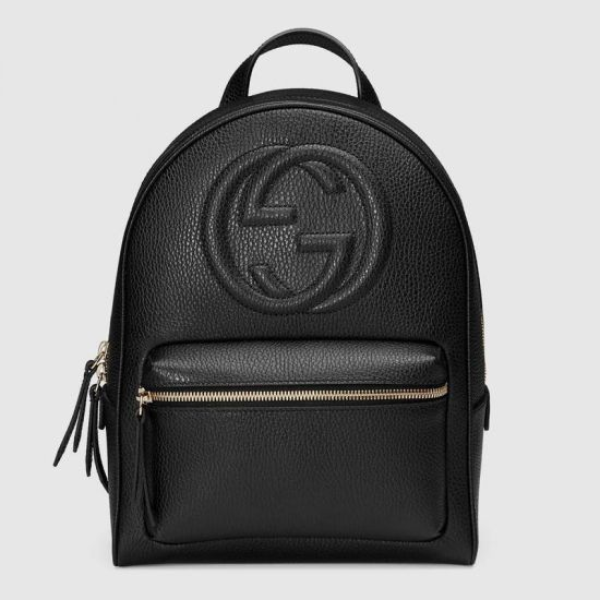 MOCHILA GG SOHO LEATHER CHAIN 431570