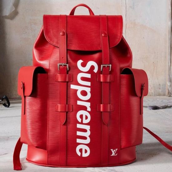 MOCHILA LOUIS VUITTON CHRISTOPHER SUPREME