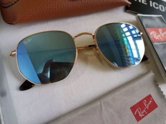 ÓCULOS DE SOL RAY BAN HEXAGONAL RB3548NL *PRODUTO ORIGINAL* OUTLET