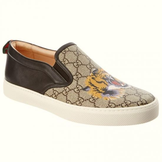 TENIS GG TIGER SLIP ON UNISSEX 456202