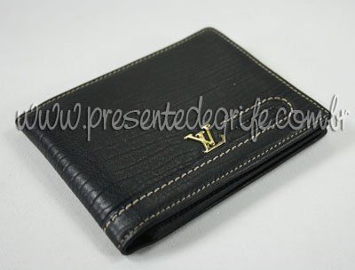 CARTEIRA MASCULINA LOUIS VUITTON DOUBLE BILLFOLD