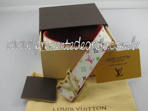 CINTO LOUIS VUITTON UNISSEX MULTICOLORE 02