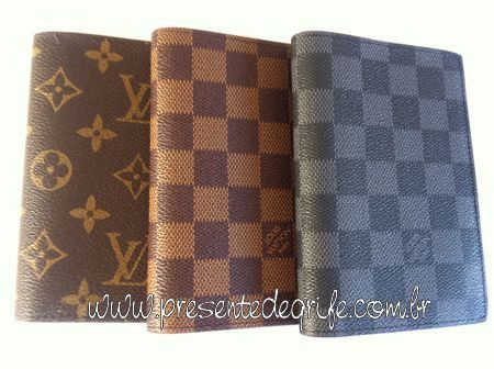 PORTA PASSAPORTE LOUIS VUITTON CANVAS COVER