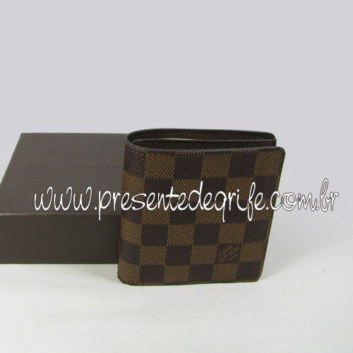 CARTEIRA LOUIS VUITTON DAMIER