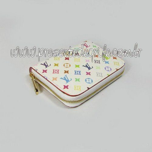 CARTEIRA LOUIS VUITTON ZIPPY COIN PURSE MULTICOLORE