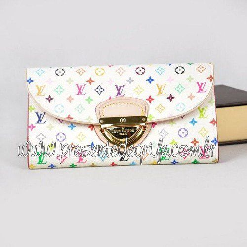 CARTEIRA LOUIS VUITTON EUGÉNIE MULTICOLORE
