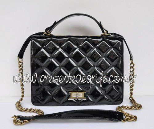 BOLSA CHANEL GLAZED CRACKLE PATENT
