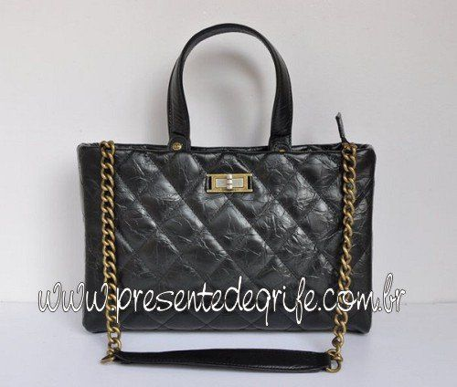 BOLSA CHANEL GLAZED CRACKLE CALFSKIN