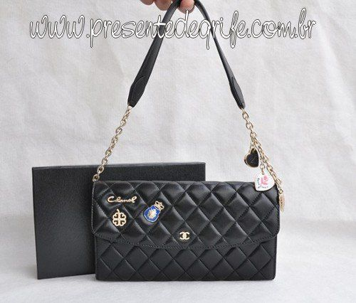 BOLSA CARTEIRA CHANEL SENSUAL ACCORDIAN