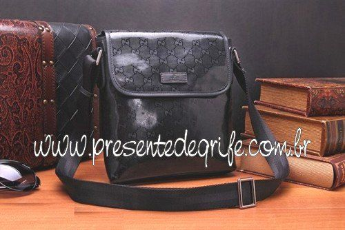 BOLSA GUCCI MESSENGER SMALL BLACK