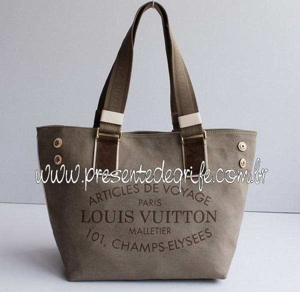 BOLSA LOUIS VUITTON CABAS DENIM
