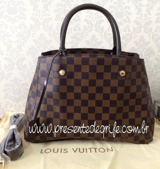 BOLSA LOUIS VUITTON MONTAIGNE DAMIER EBENE