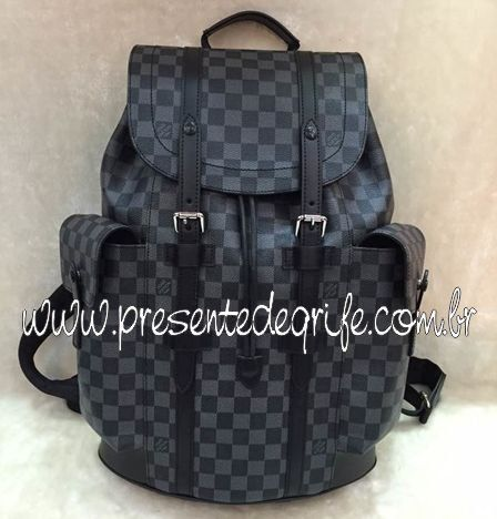 MOCHILA LOUIS VUITTON CHRISTOPHER BLACK DAMIER