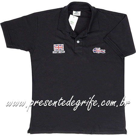 CAMISA LACOSTE POLO FLAGS **OUTLET**