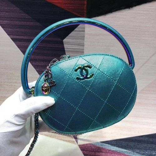 BOLSA  CHANEL CALFSKIN CLUCTH BAG AS0764