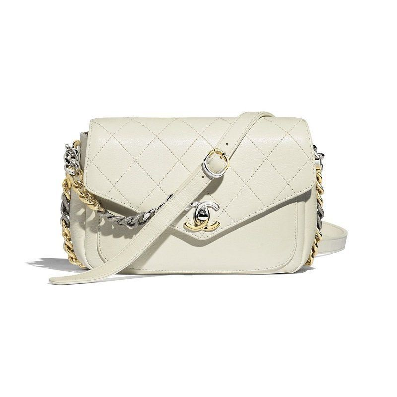 BOLSA CHANEL CALFSKIN FLAP BAG AS0413