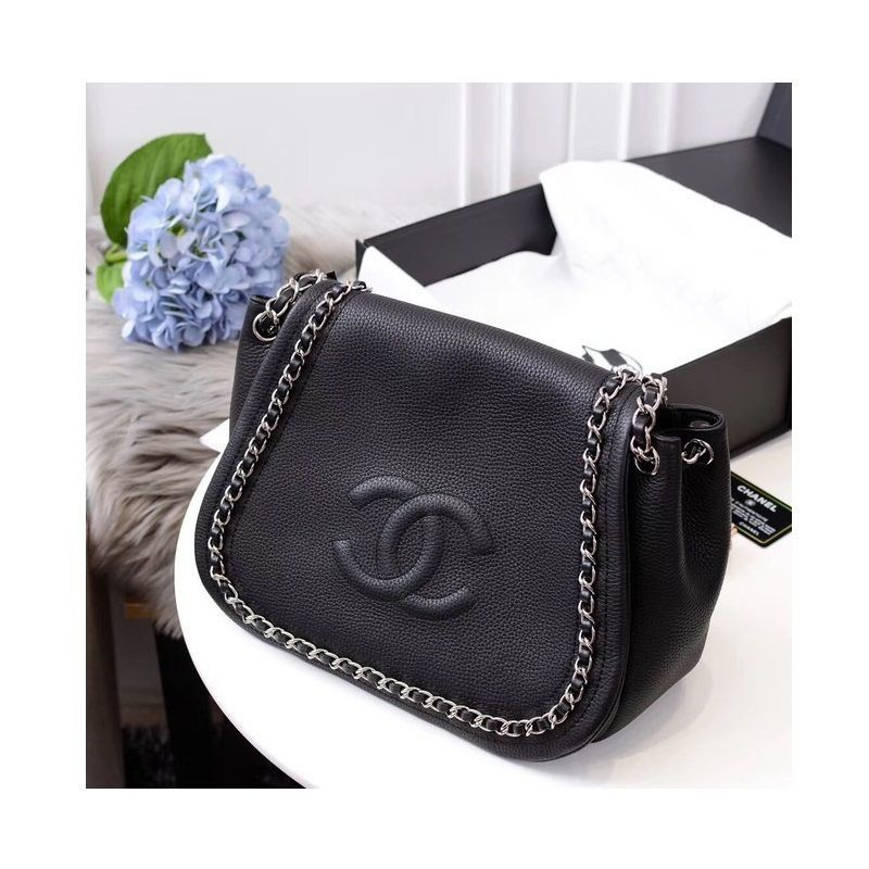 BOLSA CHANEL CALSKIN SHOULDER BAG 94008
