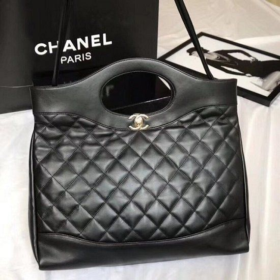 BOLSA CHANEL CC CALFSKIN SHOPPING BAG A57977