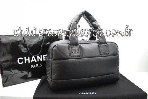 BOLSA CHANEL COCO COCOON QUILTED LAMBSKIN BOWLING