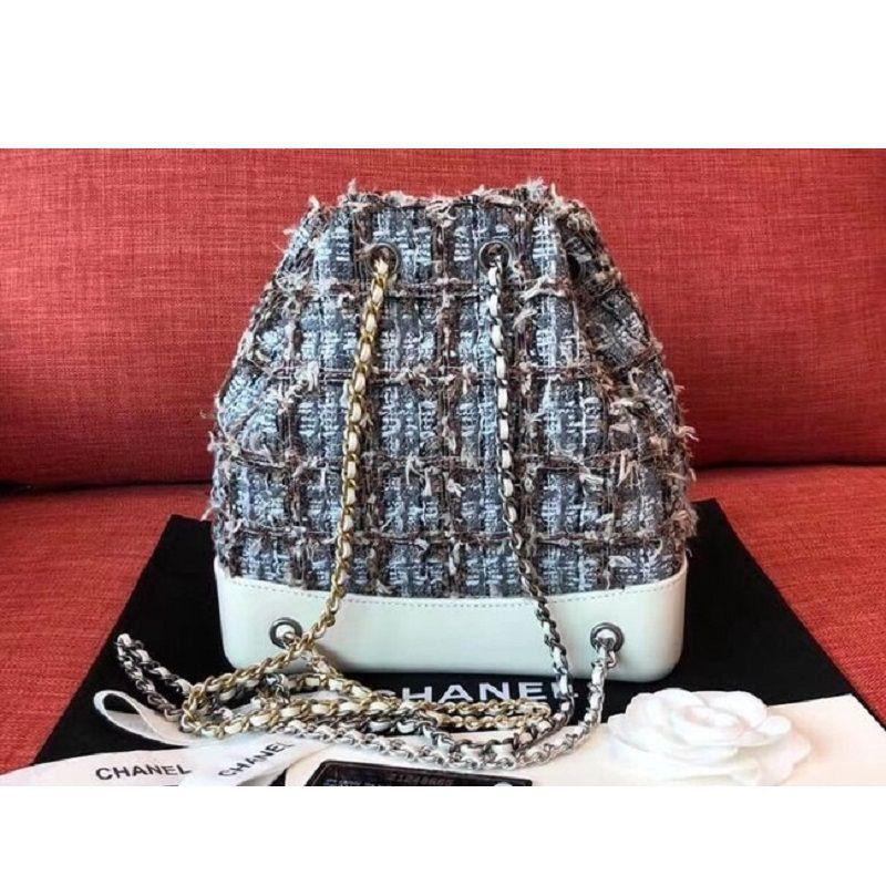 BOLSA  CHANEL GABRIELLE TWEED SMALL BACKPACK A94485