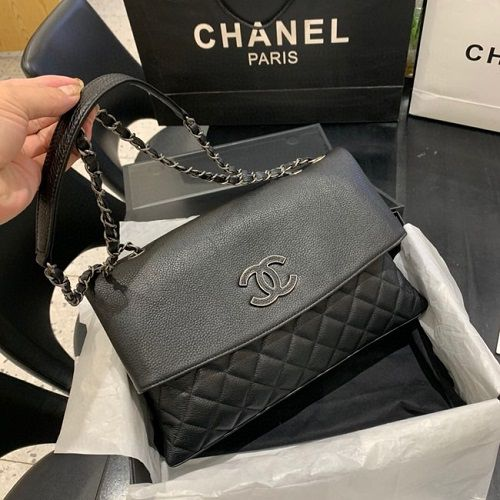 BOLSA CHANEL LAMBSKIN FLAP BAG 8095