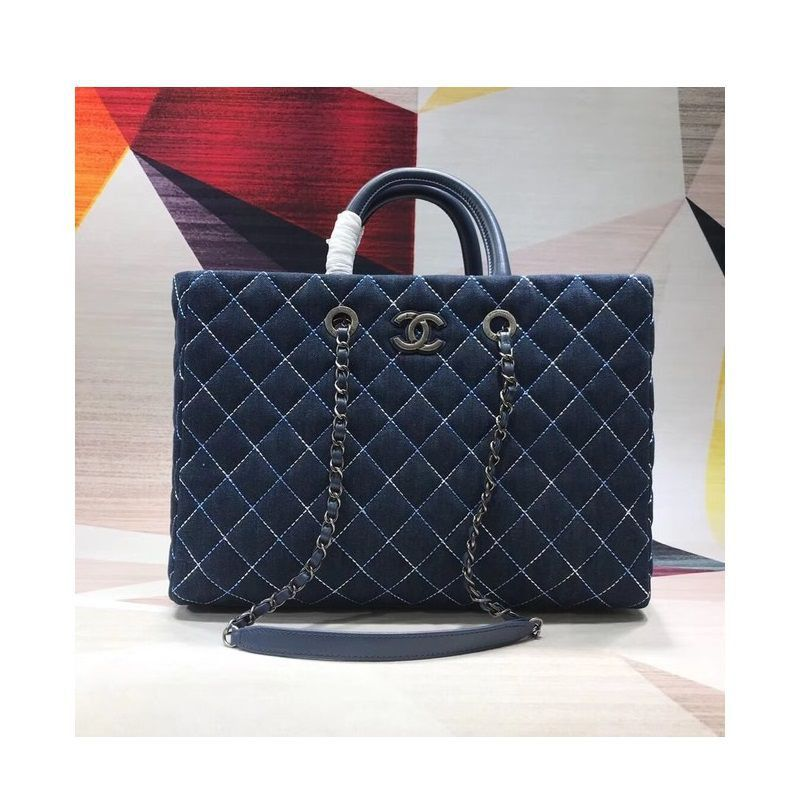 BOLSA CHANEL LARGE SHOPPING BAG GRAINED A98127