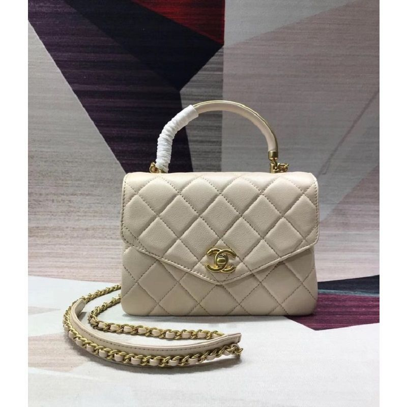BOLSA CHANEL SHEEPSKIN & GOLD-TONE METAL AS0625