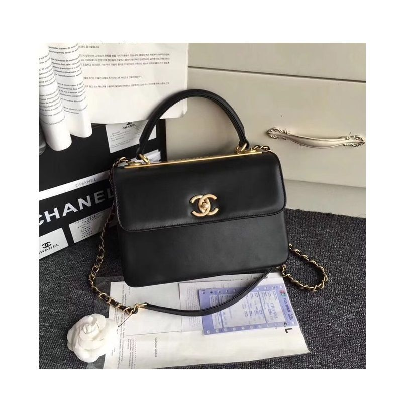 BOLSA CHANEL SMALL FLAP BAG TOP HANDLE A92236