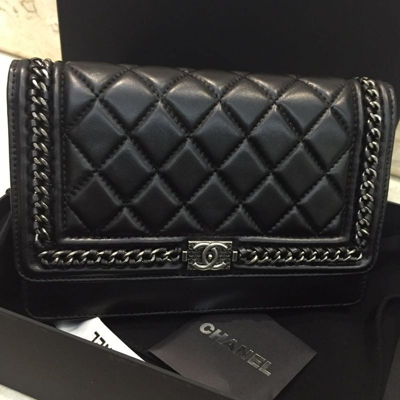 BOLSA CHANEL WOC CHAIN AROUND QUILTED