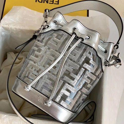 BOLSA FENDI PRINTS ON PVC MINI BAG 8BS010