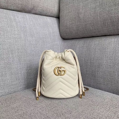 BOLSA GG MARMONT MINI BUCKET BAG 575163