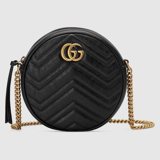 BOLSA GG  MARMONT MINI ROUND SHOULDER 550154