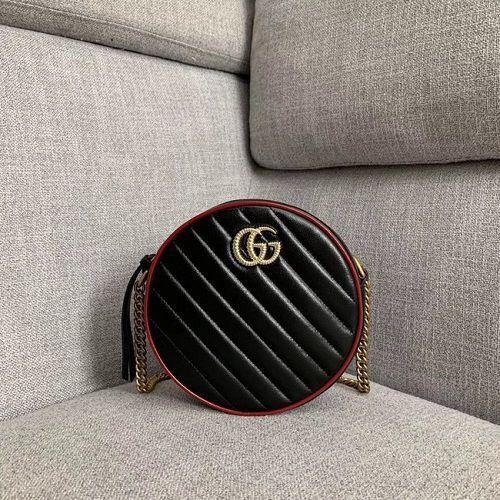 BOLSA GG  MARMONT MINI ROUND SHOULDER BAG 550154
