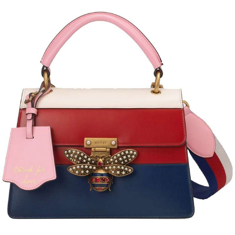 BOLSA GG QUEEN MARGARET TOP HANDLE MULTICOLOR 476541