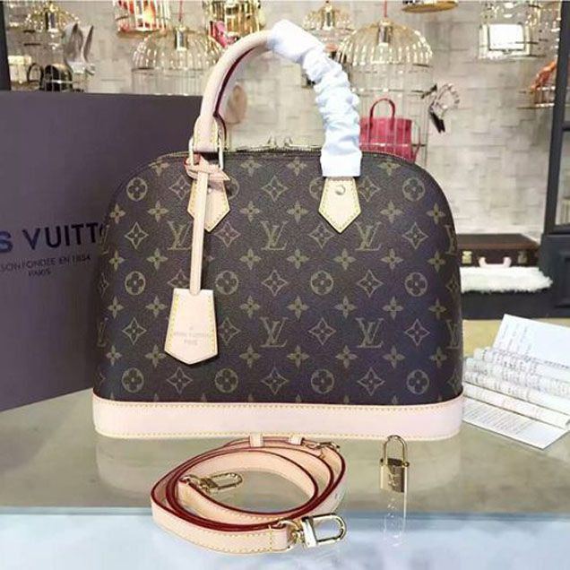BOLSA LOUIS VUITTON ALMA MONOGRAM PM M53151