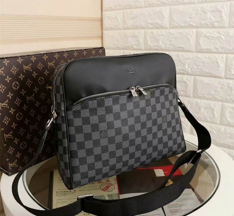 BOLSA LOUIS VUITTON MASCULINA BLACK DAMIER
