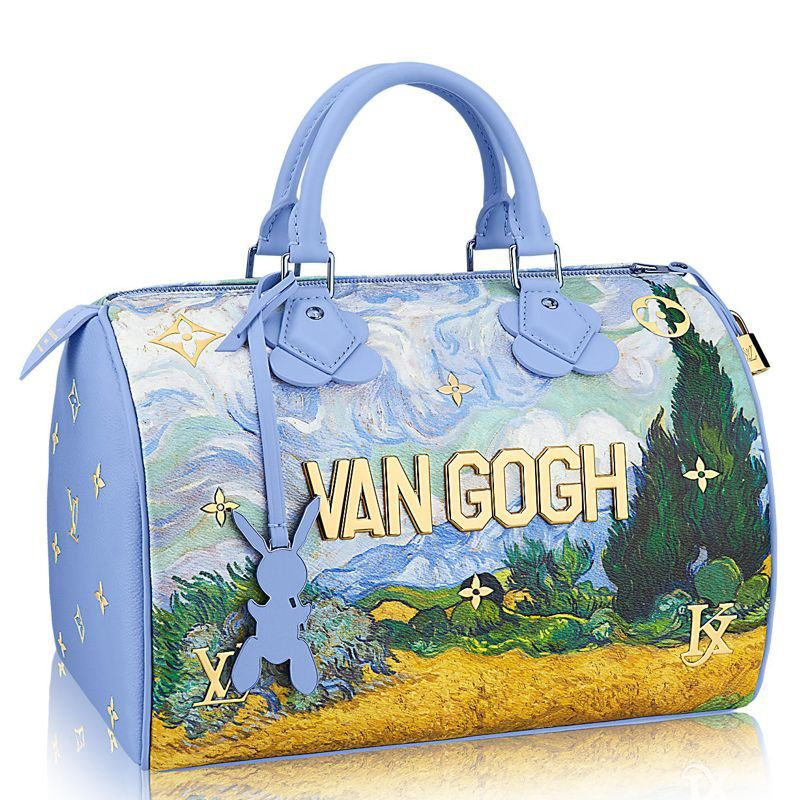 BOLSA LOUIS VUITTON SPEEDY VAN GOGH M43314
