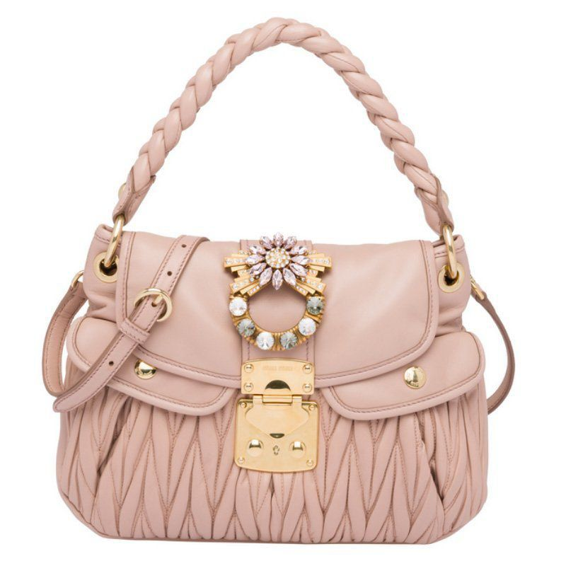 BOLSA MIU MIU COFFER LEATHER 5BC041