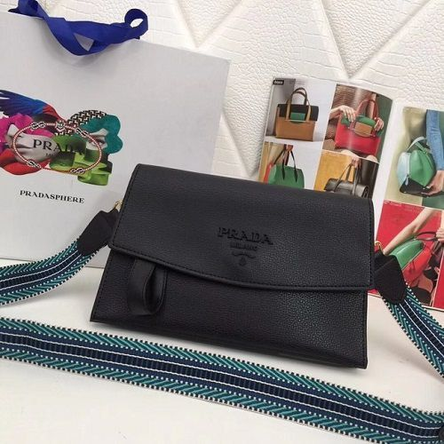 BOLSA PRADA CALF LEATHER SHOULDER BAG 66138