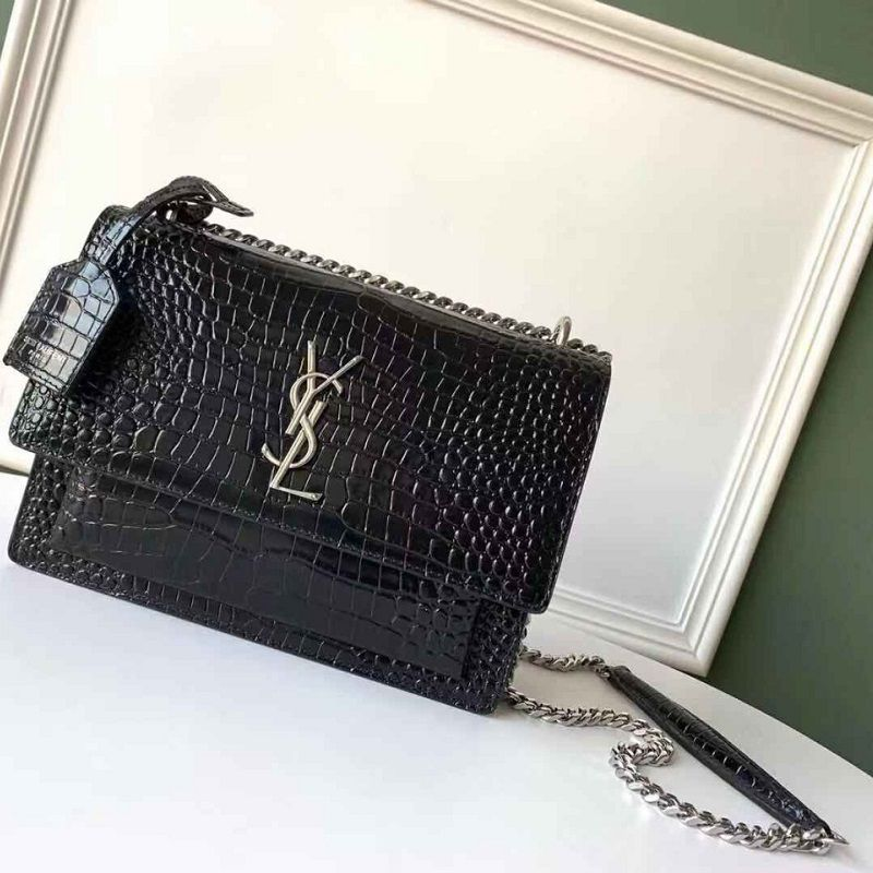 BOLSA YST CROCO SHOULDER BAG Y550228