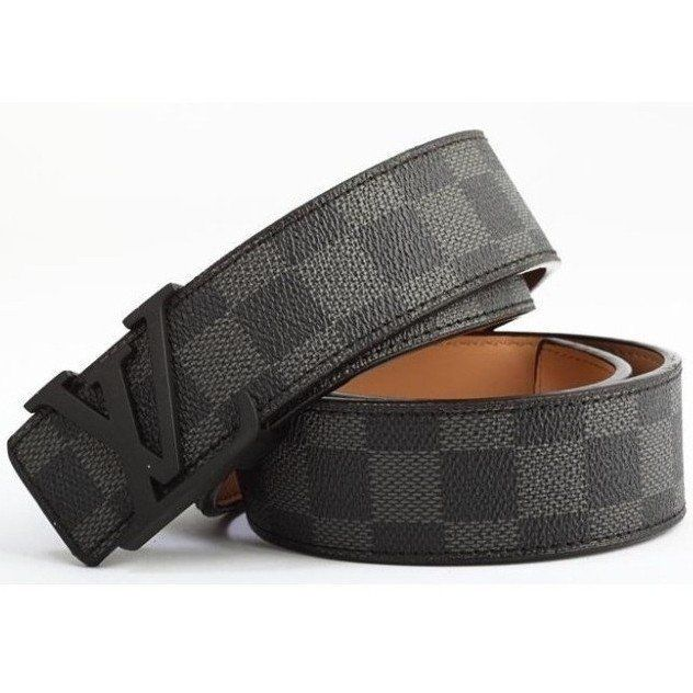 CINTO LOUIS VUITTON BLACK DAMIER TS3
