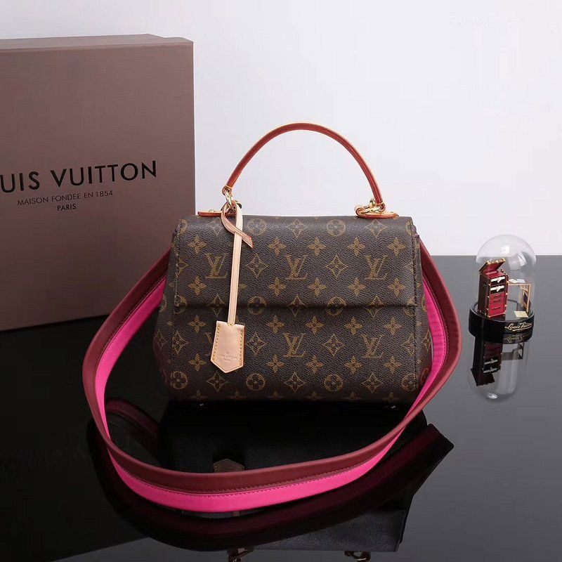 BOLSA LOUIS VUITTON CLUNY BB MONOGRAM CANVAS M42738