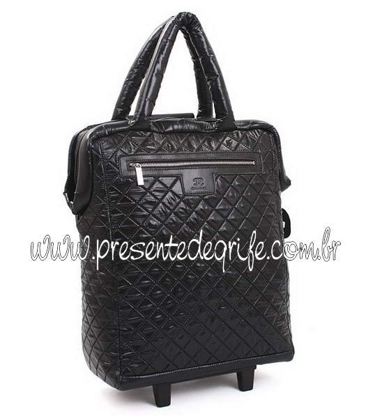 MALA CHANEL COCO COCOON NYLON TROLLEY