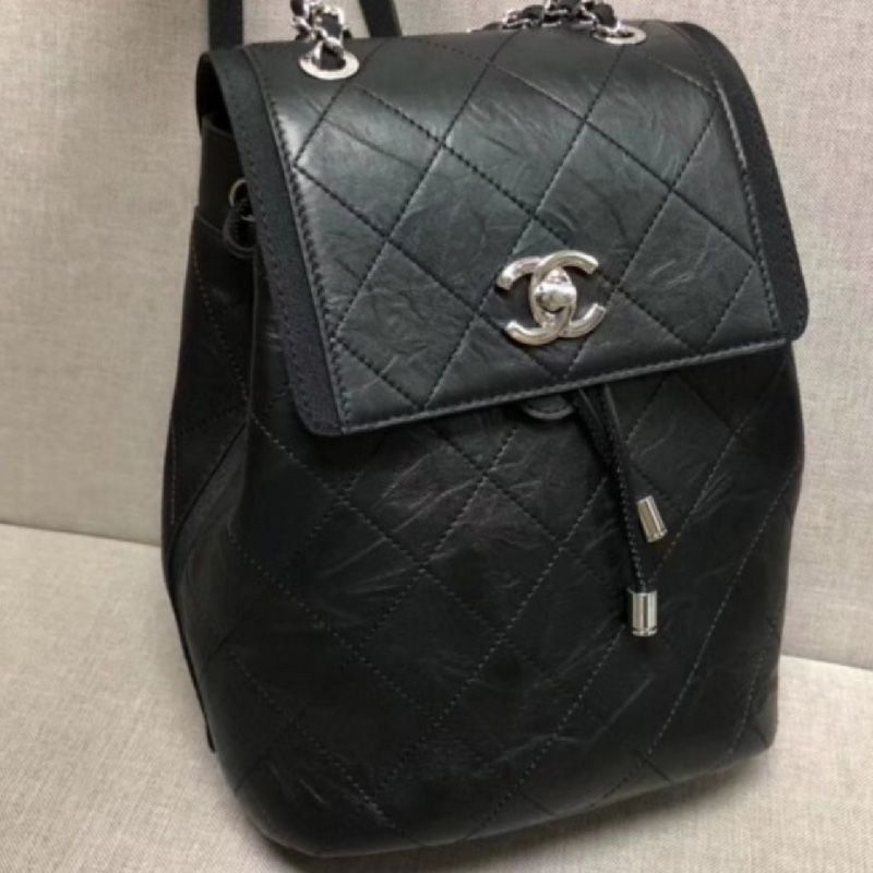 MOCHILA CHANEL GRAINED CRUMPLED A57083