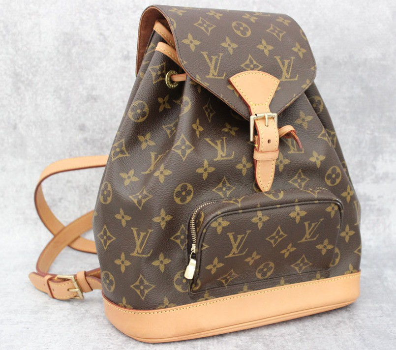 MOCHILA LOUIS VUITTON MONTSOURIS MONOGRAM