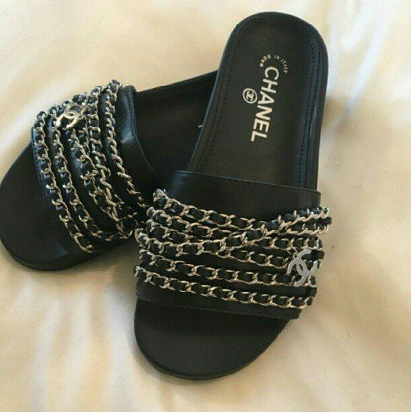 CHINELO CHANEL SLIDE